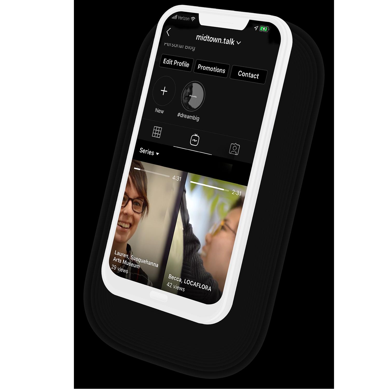 Midtown Talk Phone op